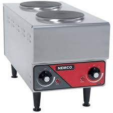 nemco 6311 1 240 electric countertop raised vertical plate
