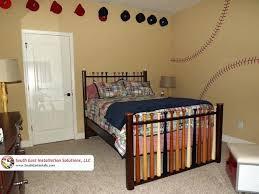 Baseball Bed Frame Baseball Bedroom Furniture Toddler Boys Baseball Bedroom Ideas