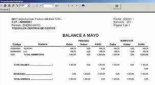 balance de comprobacion sunat qué es el balance de comprobación contabilidad