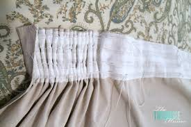 diy easy pleated curtains from sloppy to structured the