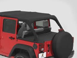 jeep wrangler cer top windjammers duster covers bestop bes 90031 35 bestop