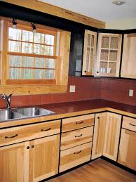 diy painted rustic kitchen cabinets diy easy kitchen makeover