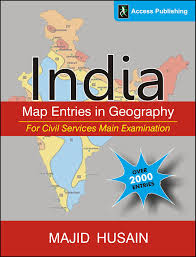 India Geography Map by Buy India Map Entries In Geography For Civil Services Main