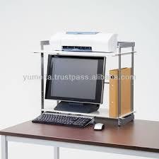Japanese Desk Japanese High Quality Monitor Shelf Desktop Rack For Your Office