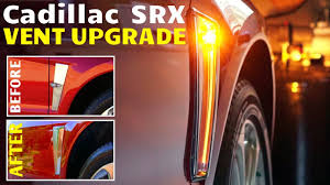 2010 cadillac srx navigation update 2010 2012 cadillac srx side vent upgrade to style mod