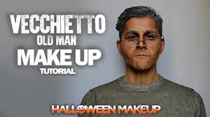 Halloween Makeup Man Vecchietto Old Man Halloween Make Up Tutorial Ita Youtube