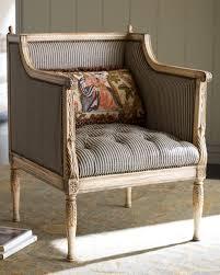 ticking stripe chair horchow home decor pinterest patronen