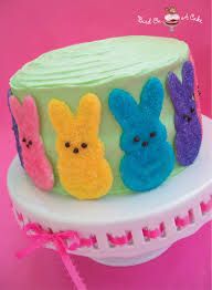 Easter Cake Decorating Ideas With Peeps by Bird On A Cake Easter Cake With White Chocolate Peeps