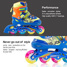 light up inline skates adjustable inline skates for kids otw cool boys rollerblades with