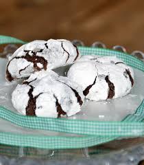 chocolate snowflake cookies gluten free corn free dairy free