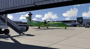 aircraft dash8 q400 flight tutorial