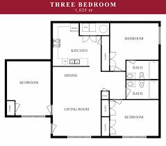 3 Bedroom Apartments Floor Plans Tahlequah Apartments Pines At Southridge Apartments Floor Plans
