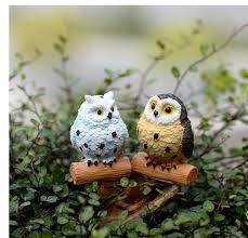 aliexpress buy micro landscape garden ornaments the owl 2
