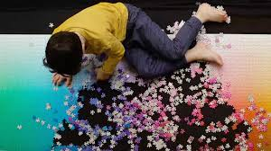 cymk puzzle try your hand at this massive 5 000 piece cmyk puzzle if you dare