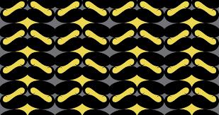 repeating halloween background mustache repeat pattern yellow black wallpaper katarina