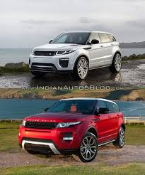 old land rover 2016 range rover evoque vs 2015 range rover evoque front three