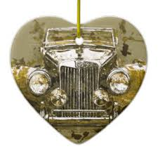 mg car ornaments keepsake ornaments zazzle
