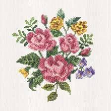 alyssa s flowers cross stitch pattern flowers