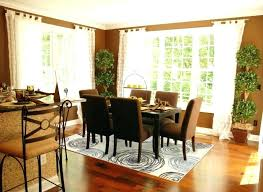 what size rug under dining table best size rug for dining room rugs under table lovely
