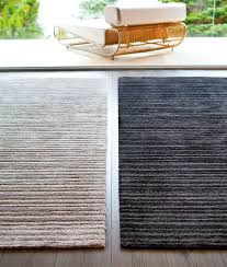 Synthetic Jute Rug Contemporary Striped Rug Synthetic Visky Stepevi Che