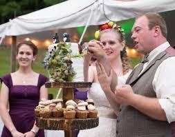 big fish and fairies backyard rustic wedding optimistically green