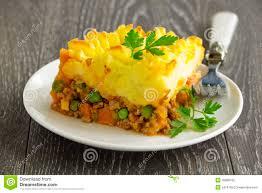 cuisine anglaise hachis parmentier cuisine anglaise photo stock image du carrot
