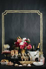 Black And Gold New Years Eve Decorations by Make Your New Years Party Sparkle A Good Affair