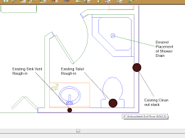 Installing Basement Shower Drain by Install Shower In Basement That Only Has 2 Piece Rough In
