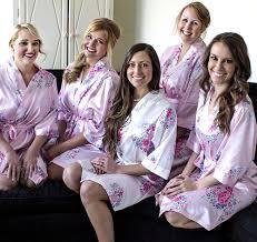 bridesmaid satin robes bridesmaids robes personalized bridesmaids robes