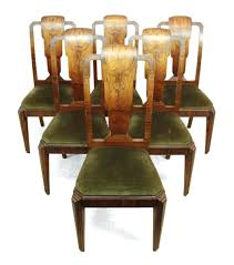 art deco dining chairs six dining chairs art deco dining chairs