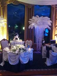 centerpieces rental feather centerpieces feather centerpiece rental for weddings