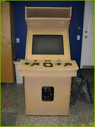 build your own arcade cabinet build your own kitchen cabinets elegant homemade mame cabinet