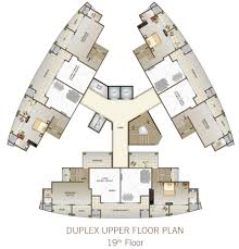 duplex apartment floor plans india