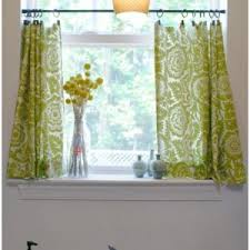 Cafe Kitchen Curtains Kitchen Yellow Kitchen Curtains Swag Cute Diy Cafe Curtains