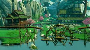 Pandas Map Kung Fu Panda Level Panda Village On Ps4 Official Playstation