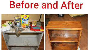 how to restore a antique bookcase youtube