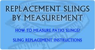 Patio Chair Replacement Slings Replacement Slings For Outdoor Patio Furniture