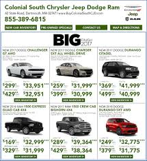 chrysler jeep dodge jeep dodge chrysler ram lease deals u0026 special offers in ma