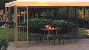 Pergola Replacement Canopy by Garden Winds Sears Grand Summer Gazebo Replacement Canopy Youtube