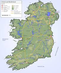 Blank Map Of Ireland by Impressum