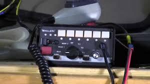 whelen siren light controller whelen 295slsa6 emergency vehicle siren demo youtube