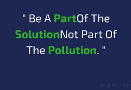 best slogans on pollution