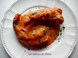 cuisiner queue de langoustes crues surgel馥s langoustes à l américaine les délices de mimm