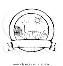 banner coloring pages royalty free rf clipart illustration of a coloring page outline