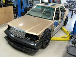 mercedes 190e wrapped around a c63 amg u2013 engine swap depot