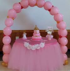 Bridal Shower Buffet by Custom Tutu Table Skirt Candy Buffet Baby Shower Bridal