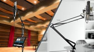 On Stage Ds7200b Adjustable Desk Microphone Stand Black by Mic Stand Or Boom Arm Youtube