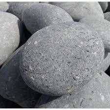 Grey Landscape Rock by Large Pebbles Landscape Rocks Hardscapes The Home Depot