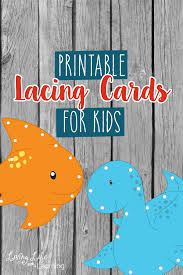 printable lacing cards for kids