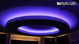home interior led lights rgb led lighting creates this striking luxury residential